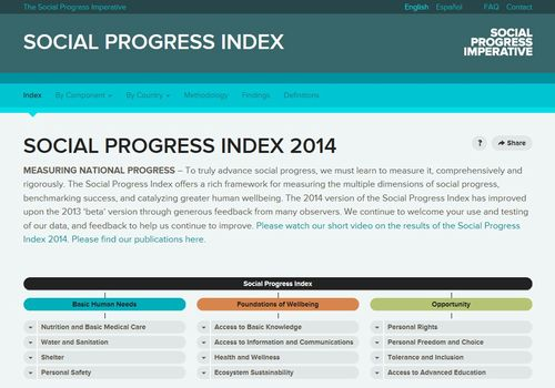 The Social Progress Index 2014: An index that moves beyond simply measuring GDPNo Small Change--Evaluating your community currency: free handbook