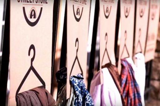 ホームレスのための「洋服店」世界中でオープン