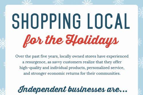 個人経営の店舗での買い物は、地域経済を後押しする