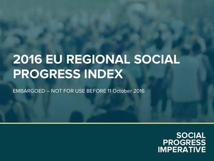 EUの地域社会の進展を測る初の報告書を発表