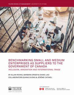 カナダ政府への中小企業サプライヤーの多様性を増やすための行動戦略