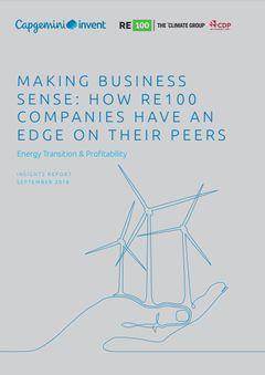 商機あり!:RE100加盟企業は同業他社よりどれほど有利か