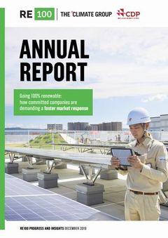 RE100の参加企業、30社が再生可能エネルギー100%を達成
